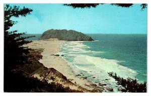 1950s/60s Point Sur Lighthouse, Monterey County, CA Postcard *5N21