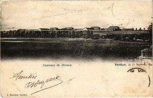 CPA Militaire Verdun - Casernes de Bévaux (90955)