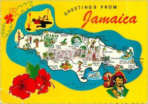 Modern Postcard Greetings from Jamaica in the West Indies