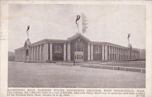 Massachusetts West Springfield Machinery Hall Eastern States Exposition Groun...