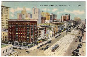 New Orleans, LA, Canal Street, Looking West