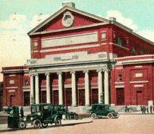 Vtg Postcard 1924 Boston Massachusetts MA Symphony Hall New England News