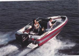Boat ad, Maxum boat company, Washington, USA, 50-70s ; Model, Maxum 1700/XB
