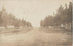 RP: EDGELEY , North Dakota ,1909 ; Street