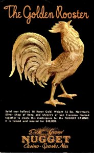 Nevada Sparks Dick Graves' Nugget Casino The Golden Rooster