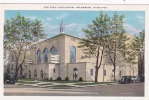 Michigan Kalamazoo Civic Auditorium