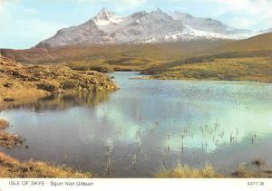 Isle of Skye Sgurr Nan Gillean Lake Mountain Landscape