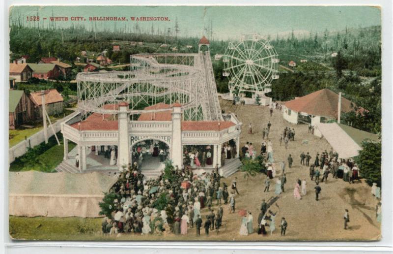 Bellingham,Washington 1909 Panoramic Photo
