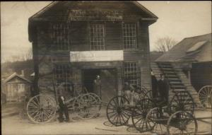 Watertown NY HH Babcock Carriage Co BEAUTIFUL Real Photo Postcard c1910