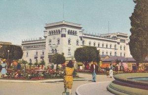 Palacio Nacional Guatemala City Mexico Vintage Postcard