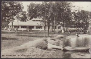 Bay Shore Inn,Williams Bay,WI Postcard