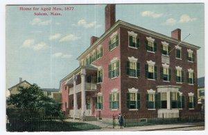 Salem, Mass, Home for Aged Men, 1877