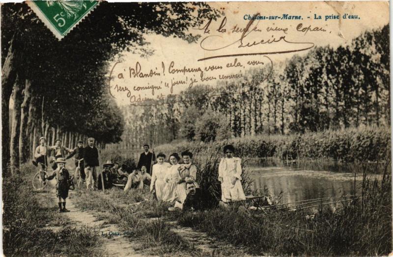 CPA Chalons-sur-Marne - La prise d'eau (742347)