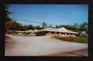NS Bluenose Motel HALIFAX NOVA SCOTIA Postcard PC