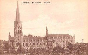 Cathedral St Thome Madras Spain Unused
