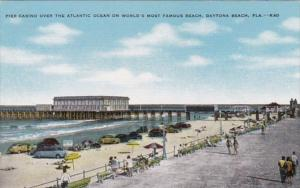 Florida Daytona Pier Casino Over Atlantic Ocean