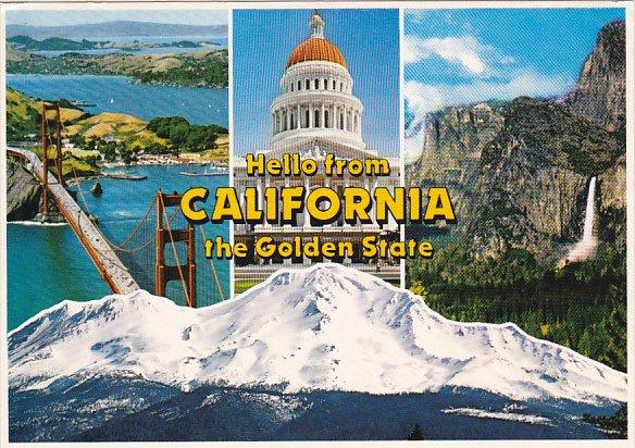 Greetings From California Multi View
