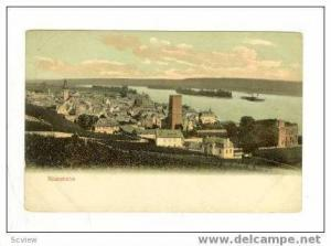 View of City and Coastline, Rudesheim, Germ., 1900-10s