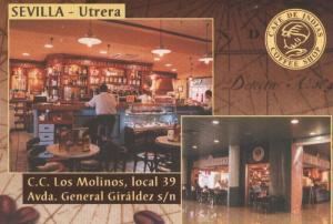 Postal 006061 : Publicitaria Cafe de Indias en Utrera, Sevilla