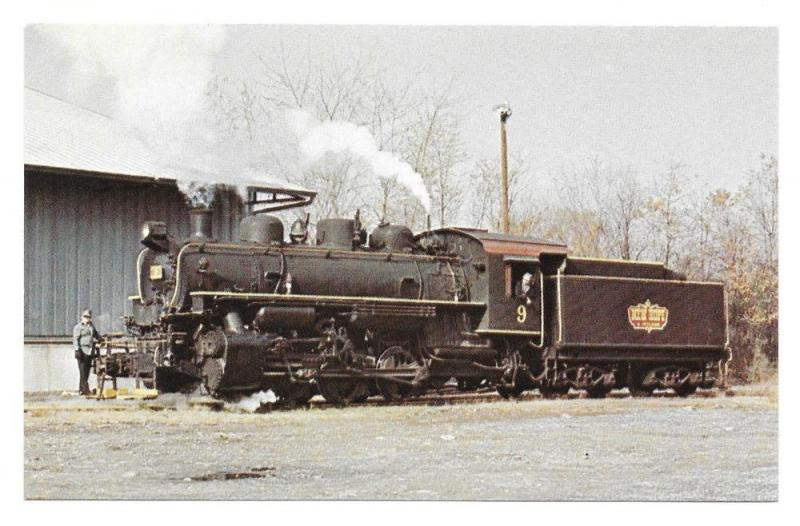 New Hope Ivyland Railroad No 9 US Army Steam Locomotive