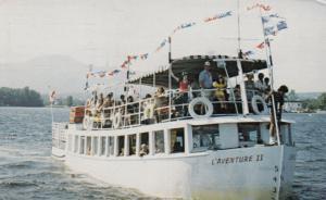 MAGOG , Quebec , Canada , PU-1986 ; L'Aventure II on Lake Memphremagog
