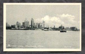 5292 - WINDSOR Ontario 1930s View toward Detroit