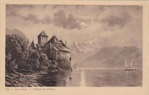Switzerland Lac Leman CHateau du Chillon
