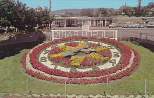 The Novel Floral Clock, Polson Park, Vernon, British Columbia, Canada, 40´s-...