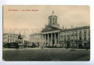 158655 BRUXELLES Belgium BRUSSELS Place Royale TRAM OLD PC