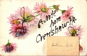 Pennsylvania Greetings A Note From Crenshaw With Flowers