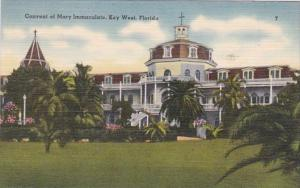 Florida Key West Convent Of Mary Immaculate 1950