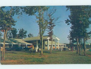 Pre-1980 MOTEL SCENE Durham North Carolina NC AD8863