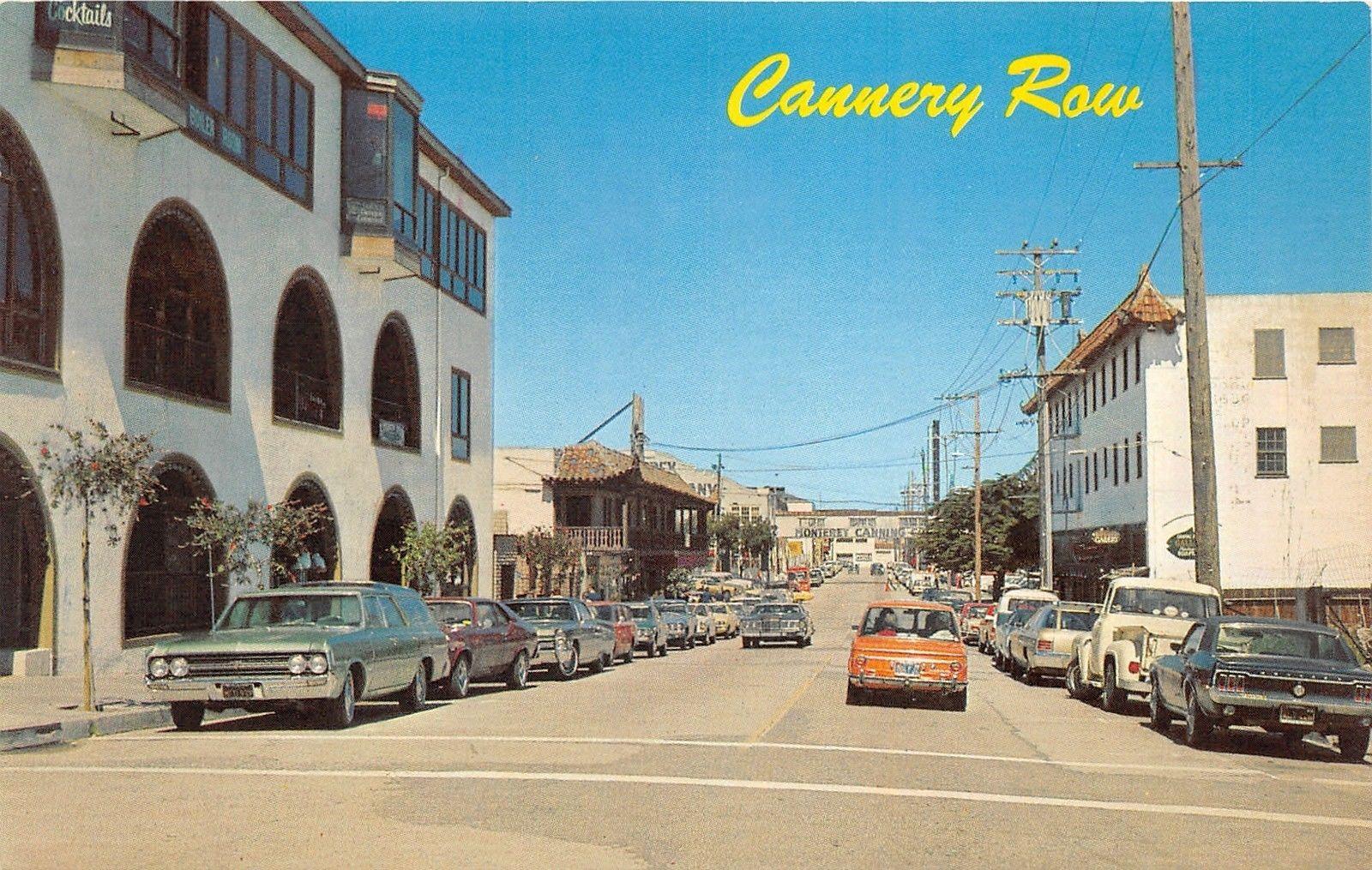 Monterey California Street Scene Cannery Row Storefronts