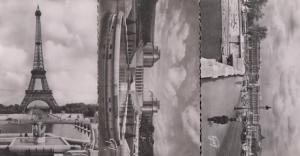 Paris Et Les Merveilles Place De La Concorde Chaillot Palais 3x Photo Postcard s