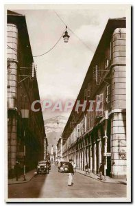 Old Postcard Chambery The Boigne Street Portals