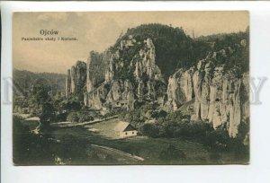 432830 Poland Ojcow Maiden scales I Crown Vintage postcard