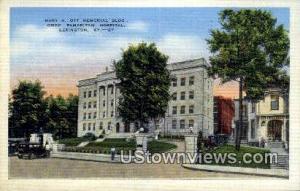 Mary A Ott Memorial Building Lexington KY Unused