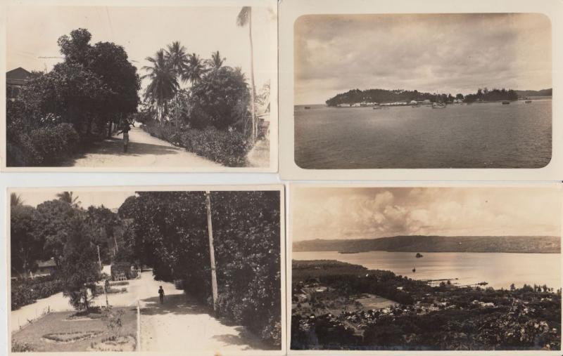 SAMARAI PAPOUASIE-NOUVELLE-GUINÉE REAL PHOTO 12 CPA (pre-1940) (L3517)