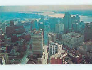 Pre-1980 BUILDINGS ON MICHIGAN AVENUE Detroit Michigan MI F9089