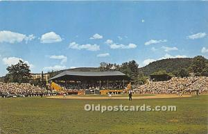 Doubleday Field and Annual Shrine Game Cooperstown, NY, USA Stadium Unused