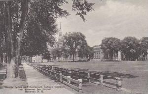 New Hampshire Hanover Dartmouth College Senior Fence Campus View Albertype