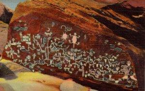 AZ - Petrified Forest.  Newspaper Rock