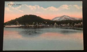 Mint Alaska USA Picture Postcard Wrangell City View
