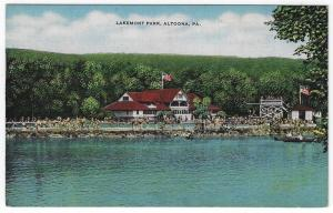 Altoona, Pennsylvania,  Early View of Lakemont Park