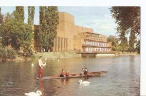 Postal 041576 : England - The Shakespeare Memorial Theatre at Strat-ford-on-Avon