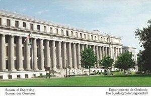 Bureau of Engraving Washington D. C. Vintage Postcard