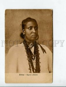 3171820 ERITREA Signora abissina Lady Abyssinian postcard