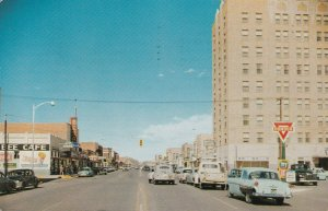 CLOVIS , New Mexico , 1956 ; Main Street