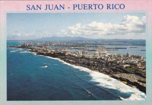 Puerto Rico San Juan View Of The Bay