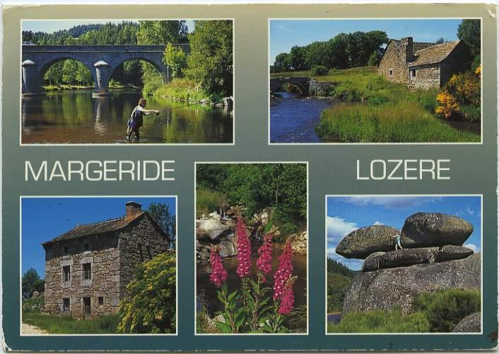 Margeride and Lozere, France - Multiview - pm 1995